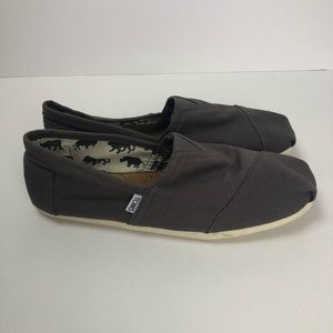 Toms Shoes - New! Greyish Purple Toms women's size 12